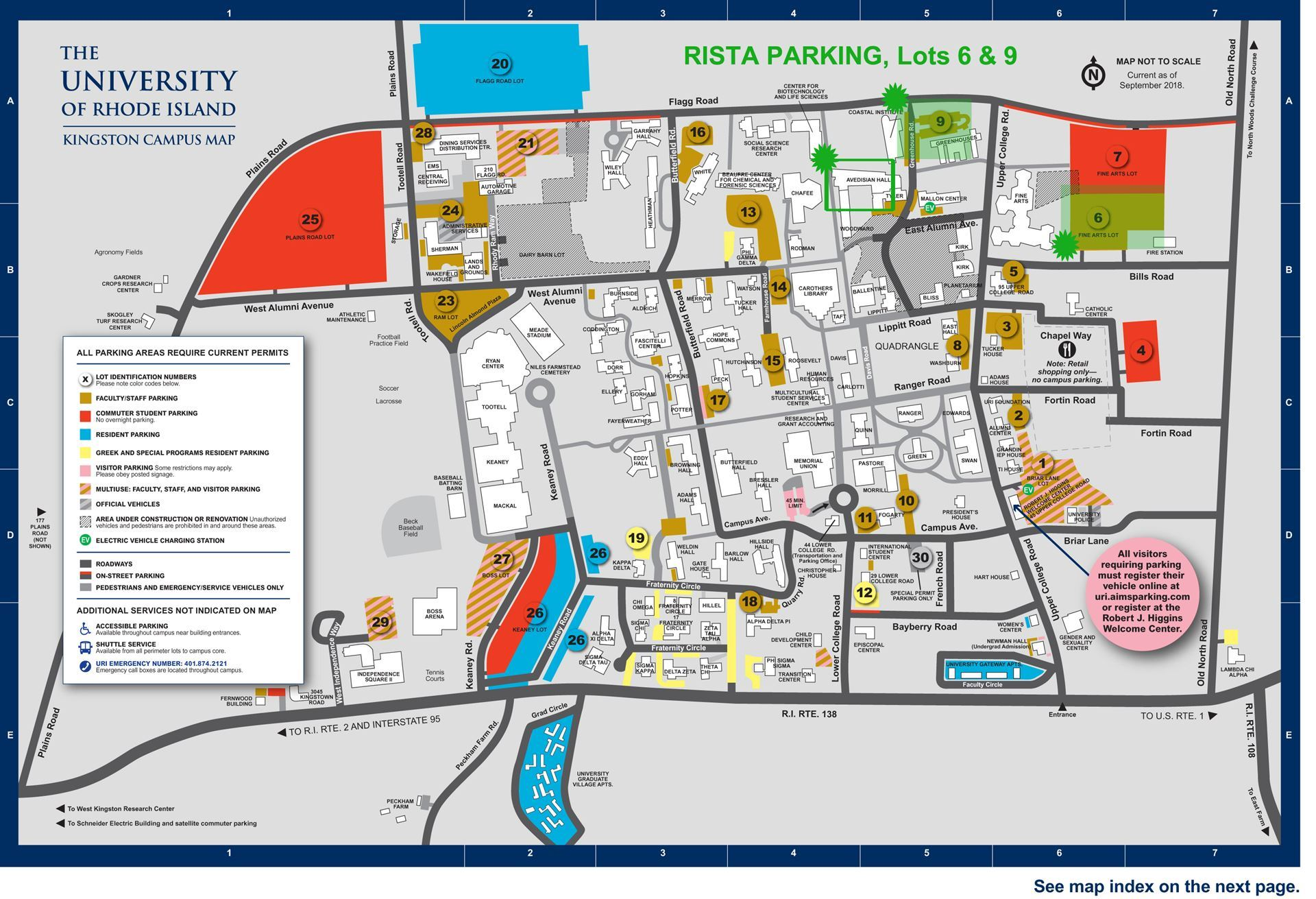 uri map of campus Uri Kingston Campus Map My Blog uri map of campus